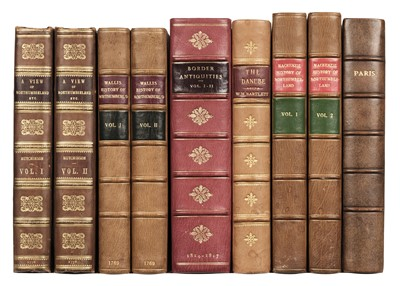 Lot 32 - Hutchinson (William). A View of Northumberland, 1st edition, 1778, & 5 others
