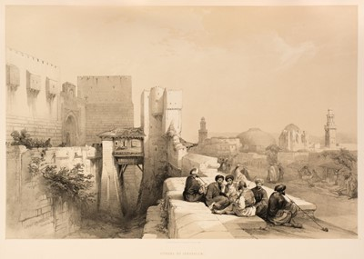 Lot 28 - Roberts (David). The Holy Land, volume 1 only, 1st edition, 1842
