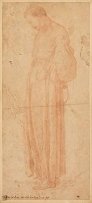Lot 327 - Pontormo (Jacopo Carrucci, 1494-1557). Monk in full-length habit