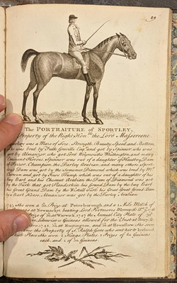 Lot 123 - Roberts (James). The Sportsman's Pocket Companion, 1st edition, c.1760