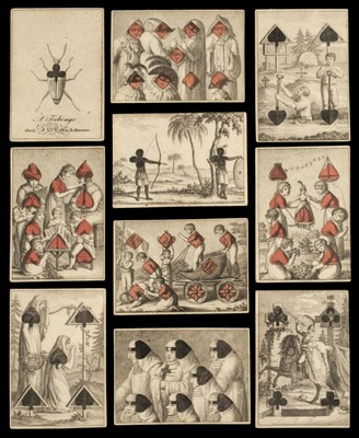 Lot 464 - Cotta (J.C., publisher). Transformation cards, Germany: Tubingen, 1805