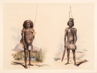 Lot 4 - Angas (George French).Thirteen plates from South Australia Illustrated, 1846-47