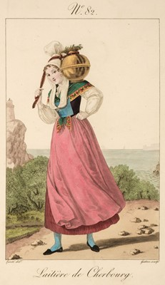 Lot 20 - Lante (Louis Marie). A collection of 36 costume plates, 1824-28