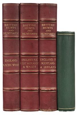 Lot 46 - British Hunts and Huntsmen, 3 volumes (of 4), 1908-1911