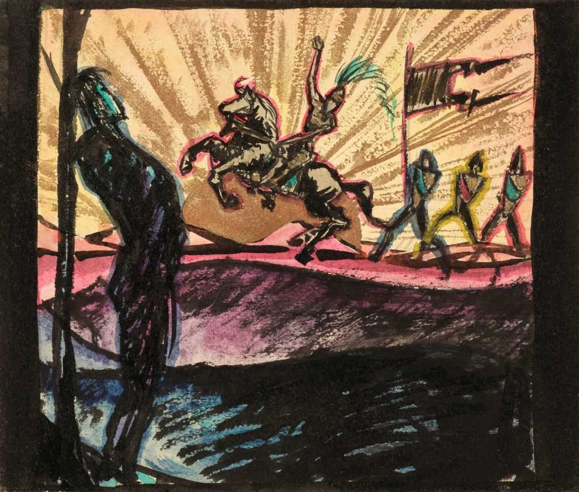 Lot 740 - German Expressionism. Hamlet [so titled to upper cover], circa 1925
