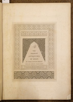 Lot 73 - Murphy (James Cavanah). The Arabian Antiquities of Spain, 1815-16