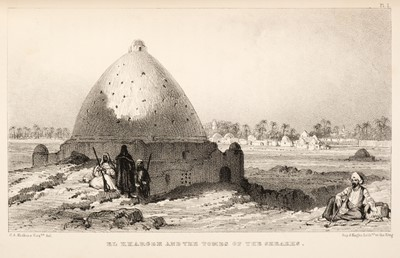 Lot 12 - Hoskins (G. A.). Visit to the Great Oasis of the Libyan Desert, 1st edition, 1837, & 1 other