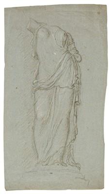Lot 343 - Italian School. Sculpture of a draped standing female figure (or Aphrodite), circa 1600