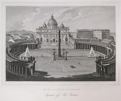 Lot 18 - Piale (Pietro, publisher). Nuova Collezione di 52 Principali Vedute di Roma, c.1869