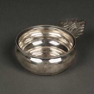Lot 11 - American Silver. Porringer by Lincoln & Foss, Boston circa 1850