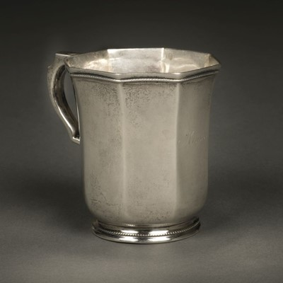 Lot 7 - American Silver. Cup by Gale, Wood & Hughes, New York circa 1830