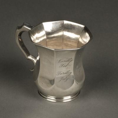 Lot 6 - American Silver. Cup by Conrad Bard, Philadelphia circa 1830