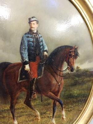 Lot 330 - Freyberg (Conrad, 1842-1915). Portrait of an Austro-Hungarian Prince