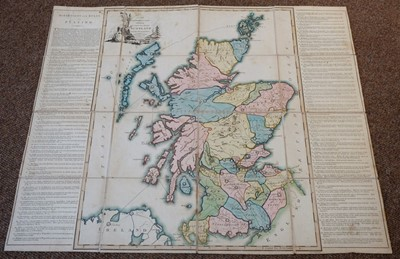 Lot 457 - Newbery (E). A New Geographical Guide exhibiting a Complete Tour through Scotland, 1st edition, 1792