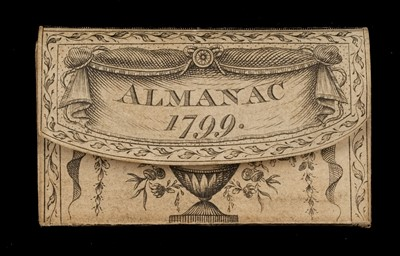 Lot 435 - Miniature. London Almanack for the Year of Christ 1799