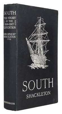 Lot 34 - Shackleton (Ernest H.). South, 1st edition, 2nd impression, 1919