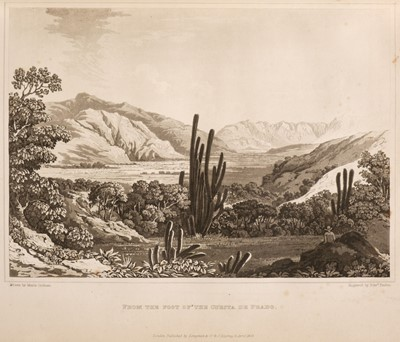 Lot 16 - Graham (Maria). Journal of Residence in Chile, 1st edition, 1824