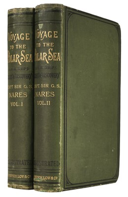 Lot 22 - Nares (G. S.). Narrative of a Voyage to the Polar Sea, 1st edition, 1878