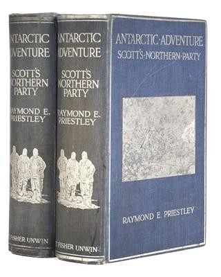 Lot 26 - Priestley (Raymond E.). Antarctic Adventure, 2 copies, 1st editions, 1914