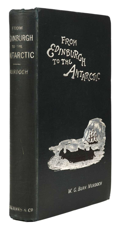 Lot 21 - Murdoch (W. G. Burn). From Edinburgh to the Antarctic, 1st edition, 1894