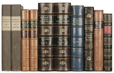 Lot 14 - Franklin (John). Narrative of a Journey to the Shores of the Polar Sea, 1824, & 6 others