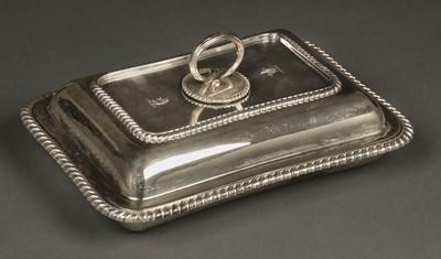 Lot 27 - Entrée Dish. Silver entrée dish by Thomas Bradbury & Sons