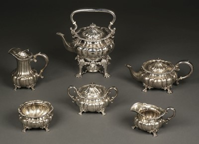 Lot 1 - American Silver. 6-piece tea service by Howard & Co, New York