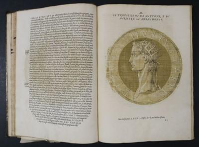 Lot 193 - Goltz (Hubert). Le Vive Imagini di Tutti Quasi Gl'Impertori, Da C. Iulio Caesere, 1557