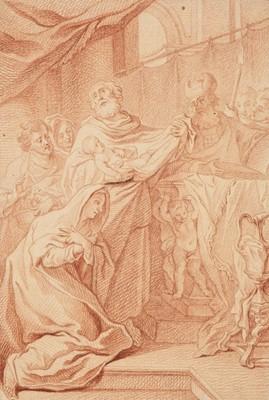 Lot 309 - Bergmuller (Johann Georg, 1688-1762). The Presentation in the Temple