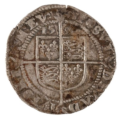 Lot 19 - Coin. Great Britain. Elizabeth I, Sixpence