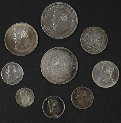 Lot 42 - Coins. South Africa. Various