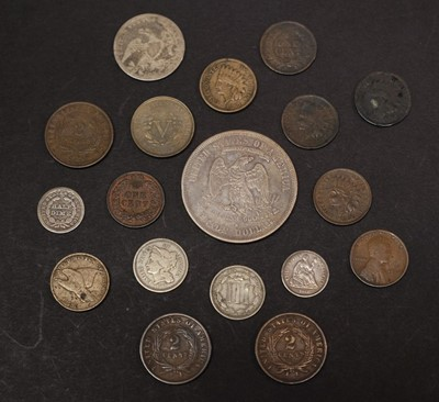 Lot 37 - Coins. America. Various