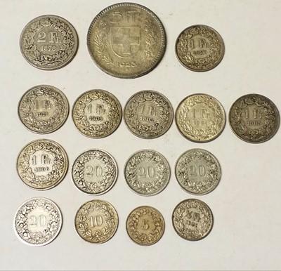 Lot 38 - Coins. Switzerland. Various