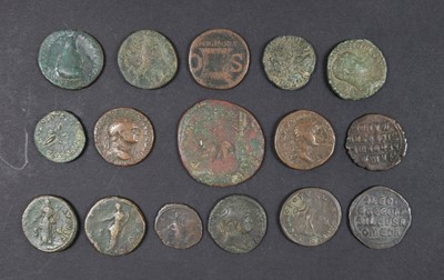 Lot 9 - Coins. Roman/Byzantine Empire and Ptolemaic Kingdom, Asses, etc
