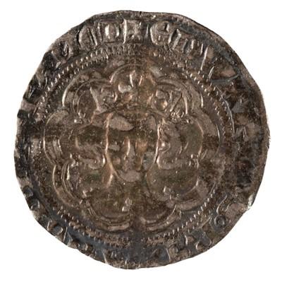 Lot 15 - Coin. Great Britain. Edward III, 1327-77, Halfgroat