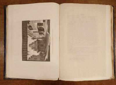 Lot 21 - Langlès (Louis-Mathieu). Monuments anciens et modernes de l'Hindoustan, 1st edition, 1821