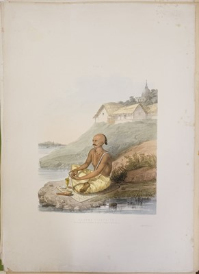 Lot 3 - Belnos (Mrs S. C.). The Sundhya or the Daily Prayers of the Brahmins, 1st edition, 1851