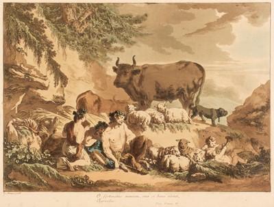 Lot 344 - Le Prince (Jean Baptiste, 1734-1781). 'O fortunatos nimium, sua si bona norint Agricolas'