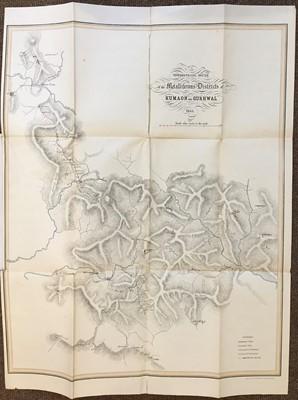Lot 17 - Henwood (William Rory). Report on the Metalliferous Deposits of Kumaon and Gurhwal, 1855