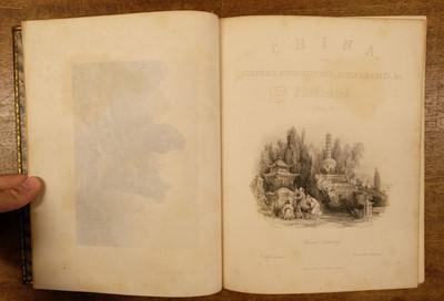 Lot 1 - Allom (Thomas, illustrator). China in a Series of Views, 1st edition, 1843