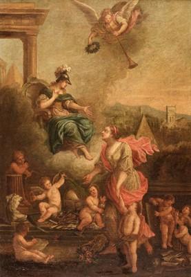 Lot 304 - Circle of Pietro Testa (1611-1650). The Arts Rewarded