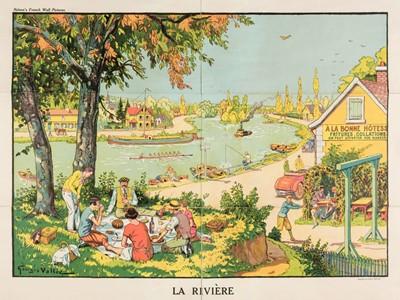 Lot 503 - Vallée (Georges, active 1897-1921). La Rivière