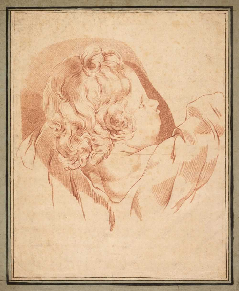 Lot 21 - Italian School. Study of a Young Boy