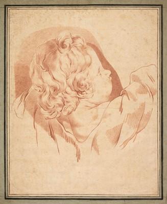 Lot 324 - Italian School. Study of a Young Boy