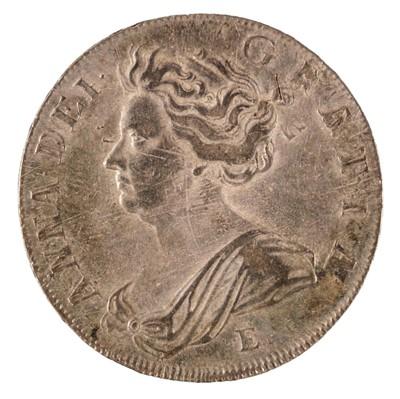 Lot 24 - Coins. Great Britain. Anne (1702-14). Halfcrowns, 1707