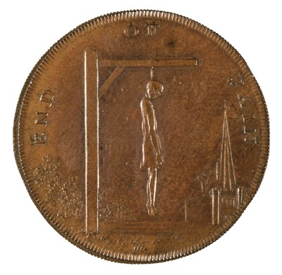 Lot 44 - Token, Middlesex. Thomas Spence's Series, Halfpenny, 1793