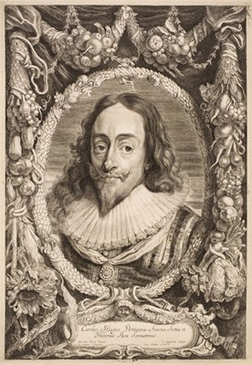 Lot 335 - Suyderhoef (Jonas, circa 1613-1686). King Charles I and other etchings after van Dyck