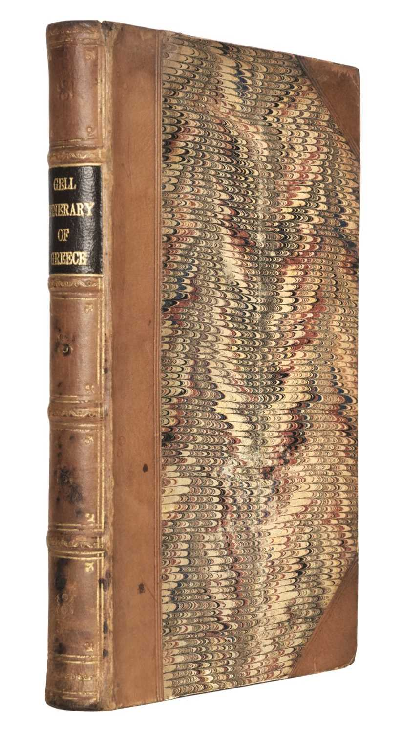 Lot 14 - Gell (Sir William). The Itinerary of Greece, 1st edition, 1819