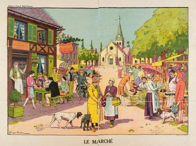 Lot 506 - Vallée (Georges, active 1897-1921). Le Marché