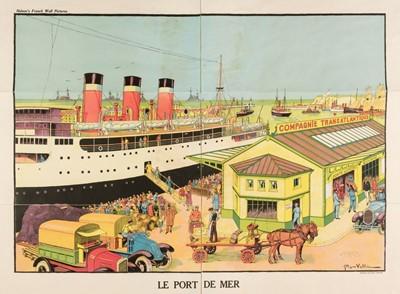 Lot 507 - Vallée (Georges, active 1897-1921). Le Port de Mer